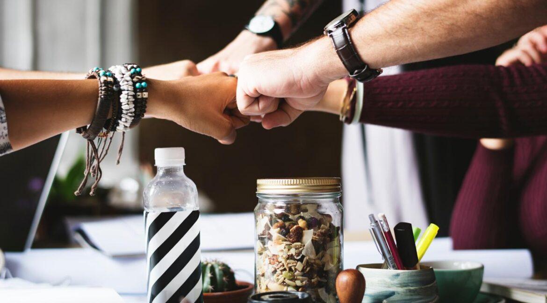 Teamwork at Spotlight Business Improvement